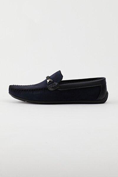 Lacivert Siyah Erkek Loafer Ayakkabı Tb103