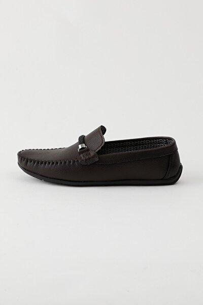 Kahve Erkek Loafer Ayakkabı Tb103