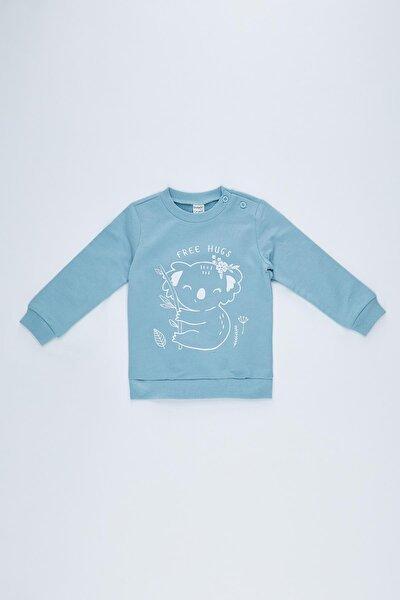 Kız Bebek Kuala Baskılı Sweatshirt