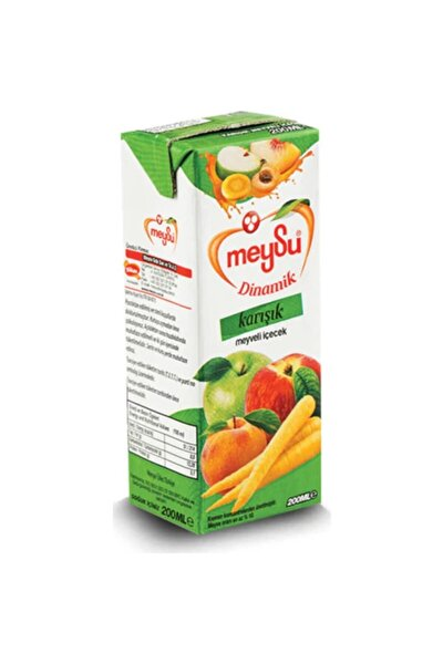 Dinamik Meyve Suyu 200 Ml X 27 Adet / Karışık