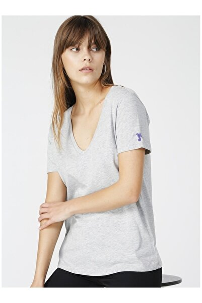 Kadın Gri Tişört