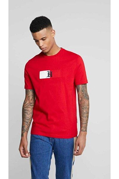 Erkek Kırmızı Lewis Hamilton Embroidered Tshirt
