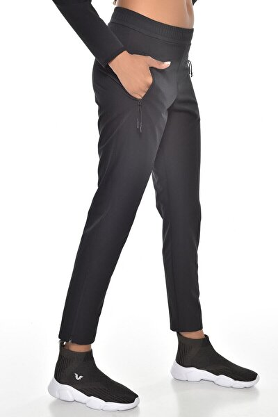 Kadın Siyah Eşofman Altı Gw-9021