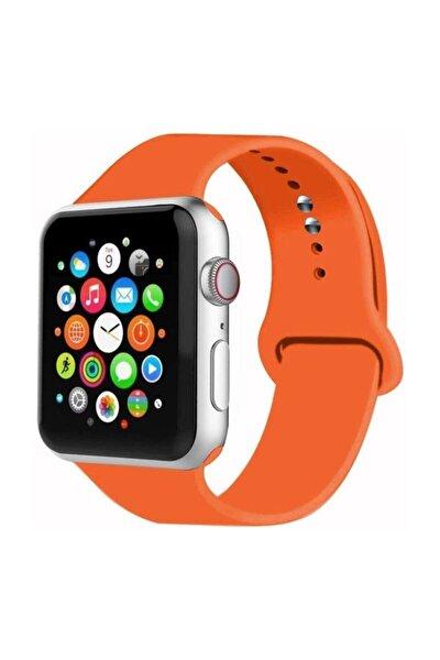 Apple Watch Silikon Kordon 2 3 4 5 Seri 38 Mm Ve 40 mm
