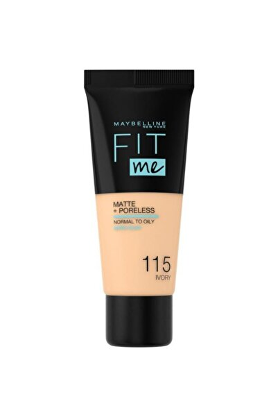 Fit Me Matte+poreless Fondöten - 115 Ivory
