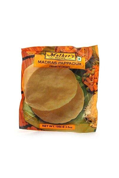 Mother's Recipe Papadum Madras 100 Gr