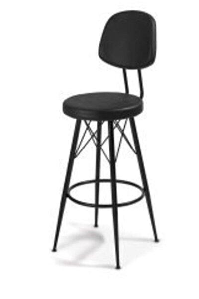 Bar Taunus Metal Konik Ayaklı 65 Cm Bar Sandalye