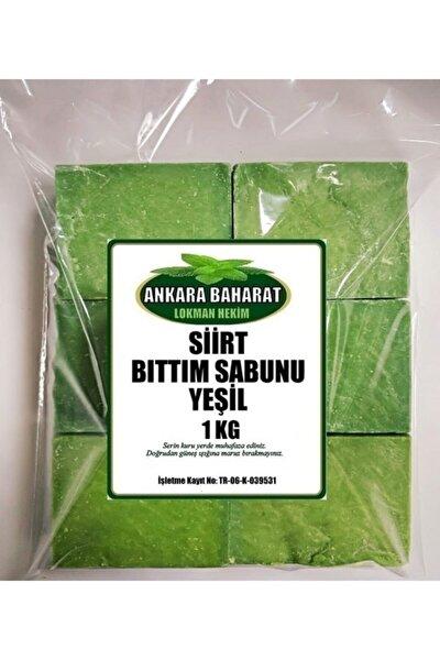 Doğal Bıttım Sabunu Yeşil Siirt - 1 Kg