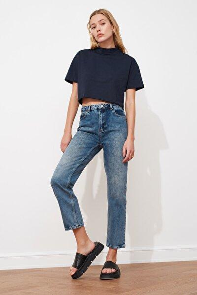 Mavi Yüksek Bel Dar Straight Jeans TWOSS21JE0027