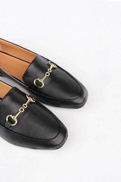 Bekla Kadın Loafer Ayakkabısiyah