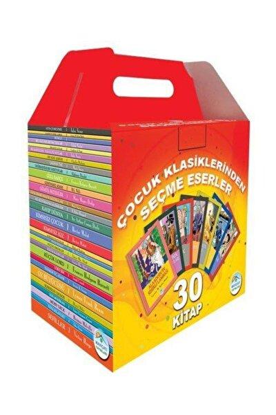 Çocuk Klasiklerinden Seçme Eserler İlkokul Seti (30 Kitap) - Kol