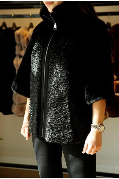 Kadın Siyah Pita Ceket