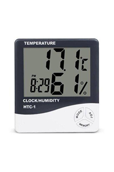 Dijital Bebek Derecesi Sıcaklık - Nem Ölçer Termometre -saat