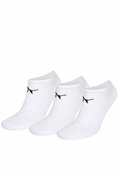 V 3P WHITE Beyaz Unisex Çorap 100040054