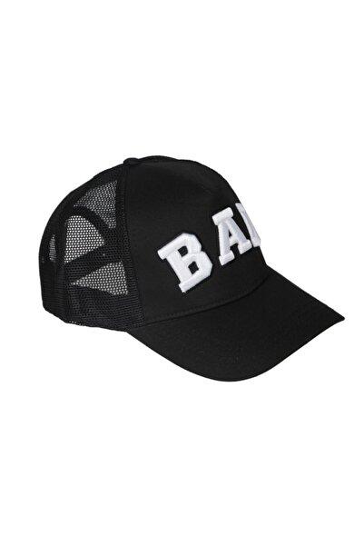 Unisex Siyah Fileli Şapka 19.02.42.006