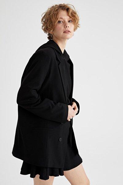 Fleto Cepli Oversize Blazer Ceket