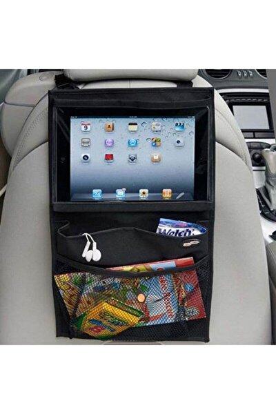 Araba Koltuk Arkası Şeffaf Kılıf Tablet Tutucu Araç Içi Düzenleyici Organizer