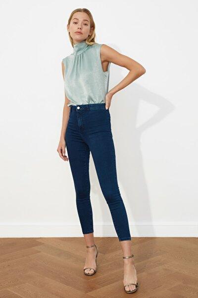 Lacivert Yüksek Bel Jegging Jeans TWOSS21JE0252