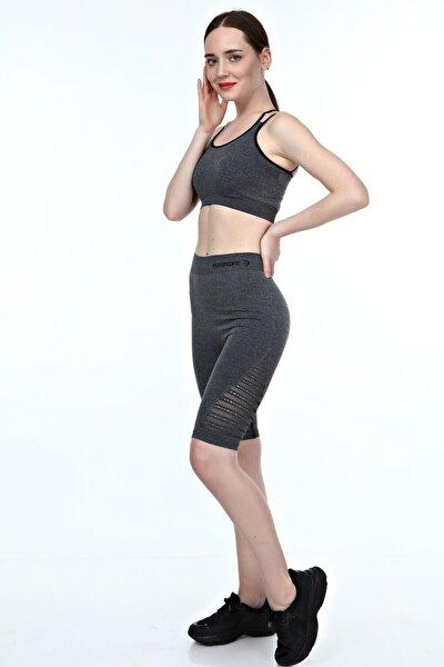 Kadın Dikişsiz Spor Şort Toparlayıcı Premium Comfort
