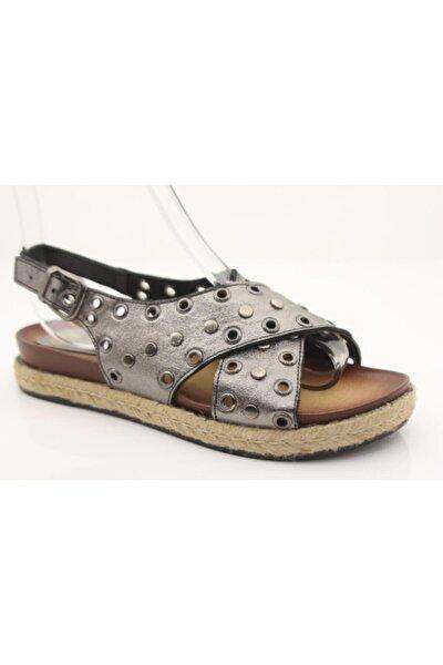 Kadın Dore Hakiki Deri Sandalet 5110