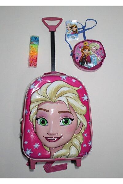 Elsa Kreş Anaokulu Çekçekli Sırt Çantası