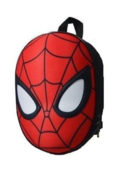 3d Kabartmalı Anaokulu Kreş Ve Günlük Kullanım Çantası Örümcek Adam Sırt Çantası