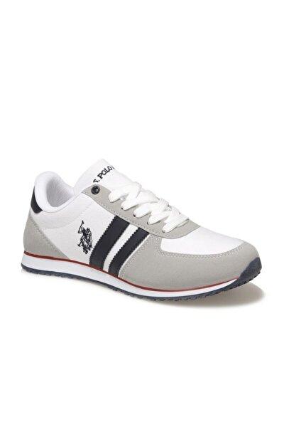 Erkek Beyaz Mesh Comfort Casual Sneaker Ayakkabı