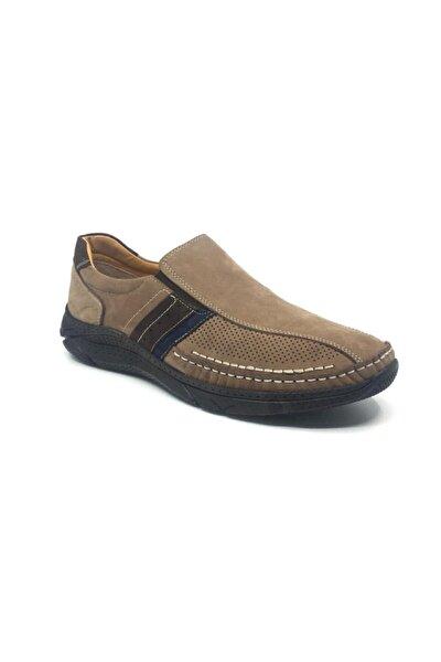 Erkek  Ortopedik Yazlık Rahat Spor Ayakkabı 39-48 %100 Deri