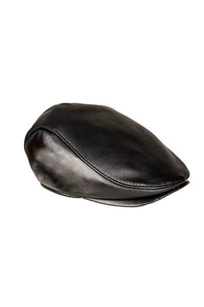 Ivy Model Hakiki Deri Şapka