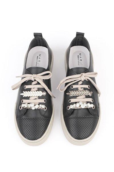 Kadın Siyah Sneaker Ayakkabı Dalis