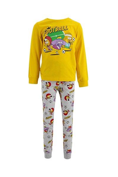 Erkek Çocuk Kral Şakir Lisanslı Pijama Takım