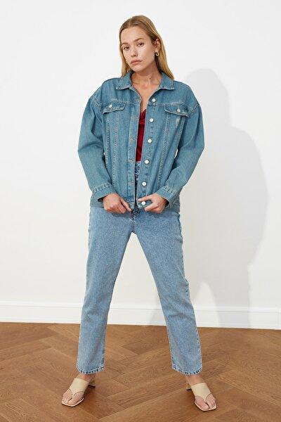Mavi Vintage Yıkamalı Denim Ceket TWOSS20CE0035