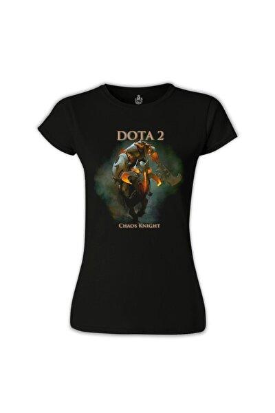 Kadın Siyah Dota 2 - Chaos Knight Tshirt - BS-611