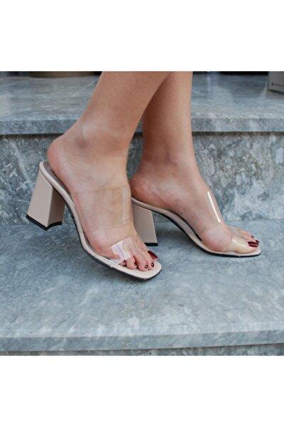 Ten Kısa Topuklu Kadın Ayakkabı