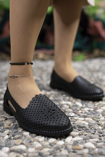Siyah Kadın Günlük Ayakkabı 0012503