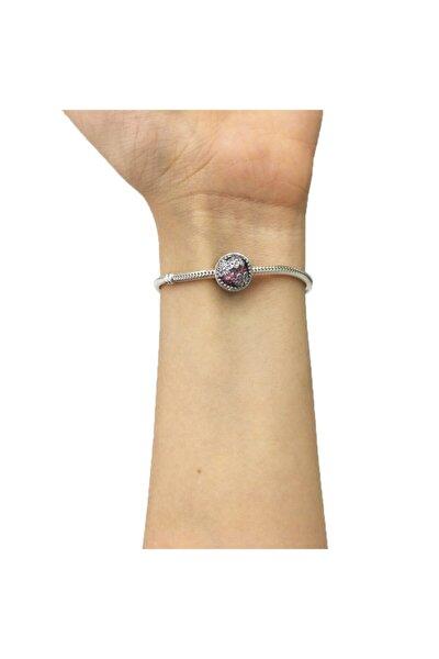 Papatya Tarlası Pandora Bileklikleri İçin Gümüş Charm