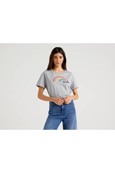 Benetton Benetton Baskılı Tshirt