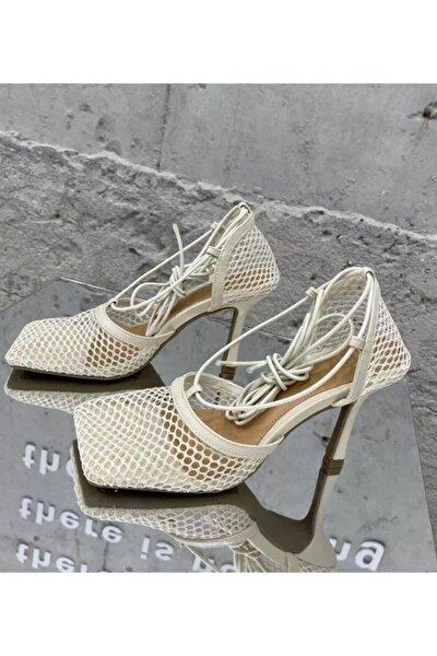 Lacey Topuklu Ayakkabıbeyaz