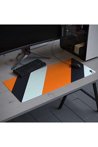 Xxl 90*40cm Dikişli Temizlenebilir Gaming Oyuncu Mousepad