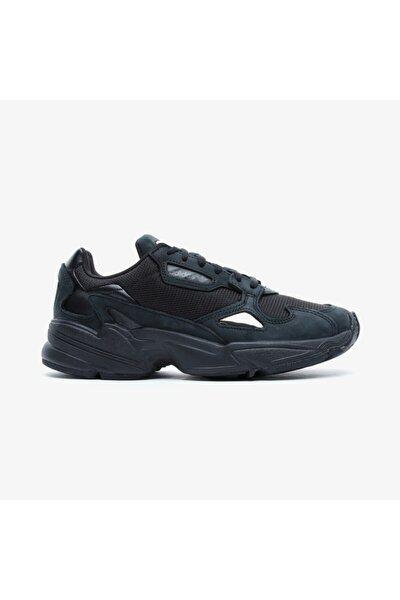 Falcon Kadın Siyah Spor Ayakkabı