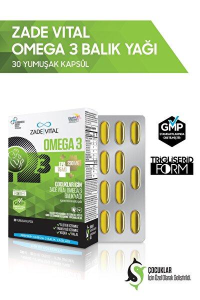 Omega 3 Balık Yağı 500 Mg Çocuklar İçin 30 Kapsül