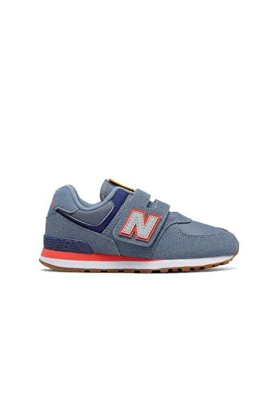 Unisex Çocuk Mavi Sneaker 574