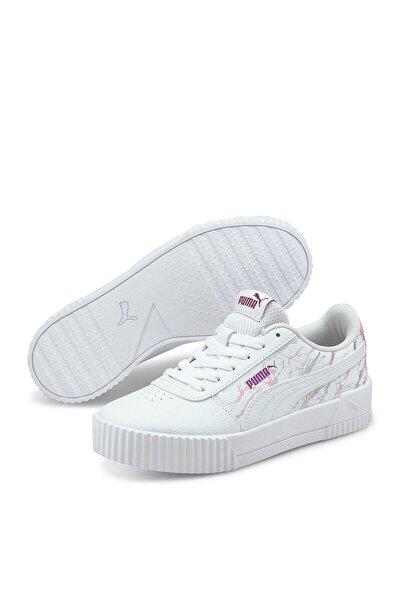 CARINA MARBLE GLITTER JR Beyaz Erkek Çocuk Sneaker Ayakkabı 101085445
