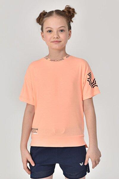 A.Turuncu Unisex Çocuk T-Shirt GS-8179