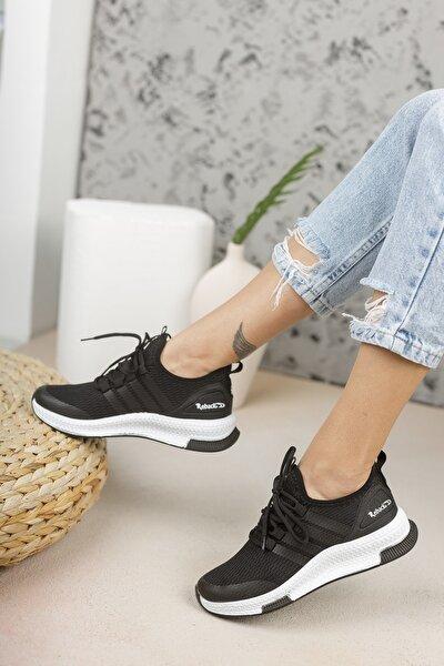 Siyah Beyaz Sneaker