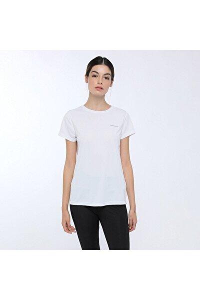 BASIC PES C NECK T-SHIRT Beyaz Kadın T-Shirt 100559646