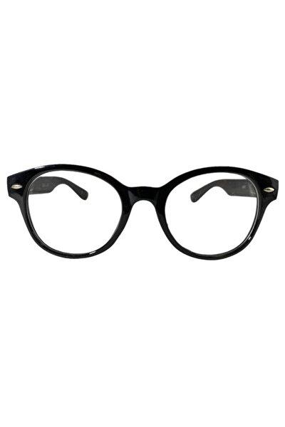 Wayfarer Siyah Çerçeveli Mavi Işık Koruyucu Şeffaf Gözlük