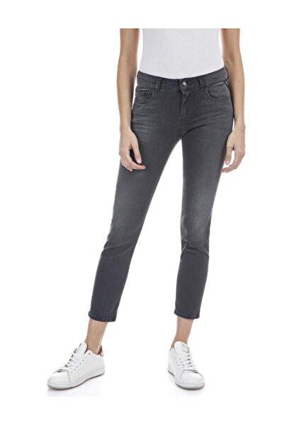 Kadın Koyu Gri Power Streç Denim Pantolon