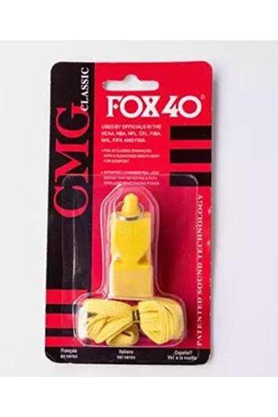 Sarı Classic Düdük, Ağızlık Ve Boyun Ipi Hediyeli, Kutusunda