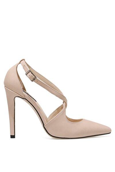 MELANIE NUDE Kadın Topuklu Ayakkabı 100669456